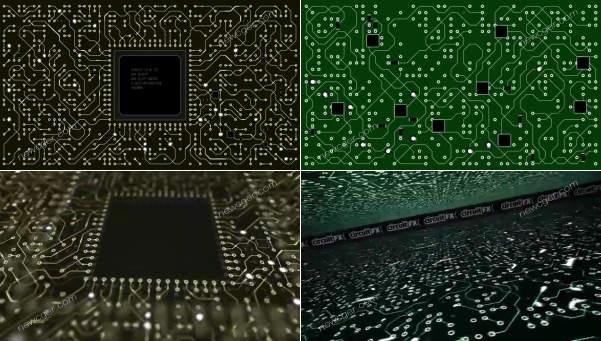 circuitFX 是一款专门用在 After Effects 中的创建图形电路板效果的脚本工具。 在脚本面板上每点击一次,就可以随机生成电路板图案样式。除了电路线、点、圆之外,circuitFX 还可以创建芯片、电阻、电容等元素部件。circuitFX 还可以将所需的所有部件元素放在单独的形状层中,或为电路板的每个部分创建单独的形状层。circuitFX 是一款在制作科技项目作品时可以发挥较大作用的脚本工具。 circuitFX 宣传片 在Center-Out模式下,可以利用半径百分比滑块来调整中心